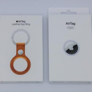Apple AirTag(4個セット)を購入しました【開封】