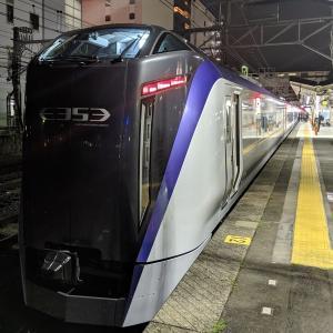 JR東日本(中央本線)の特急「はちおうじ」に乗車しました