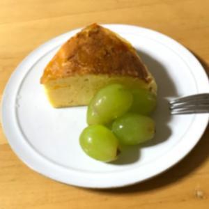 長男とチーズケーキ