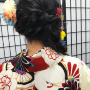 娘の卒業式の袴姿の前撮り