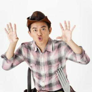 ハンバーグ師匠こと井戸田潤 とちぎのおいしいお米をPR