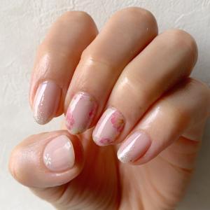 桜ピンク ネイル