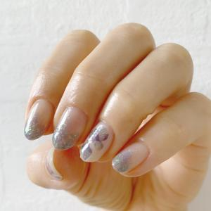 紫陽花 ネイル