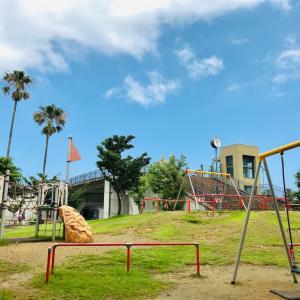 【熱海・子どもの遊び場】渚小公園で遊ぼう!『子連れで行く!熱海のおすすめ観光スポット①』