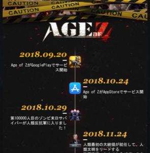 Age of Z 1周年