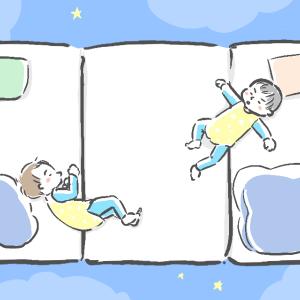 双子の寝室と布団について。0歳〜1歳半の記録
