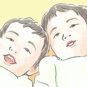 双子が2歳になりました。自己主張が強くなり、イヤイヤ期へ突入?