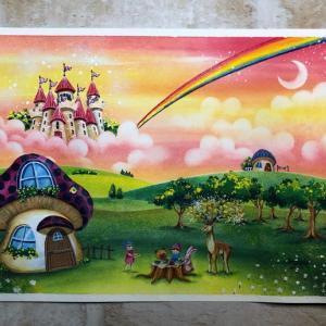 【作品】虹の城