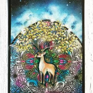 【ART】金葉の鹿