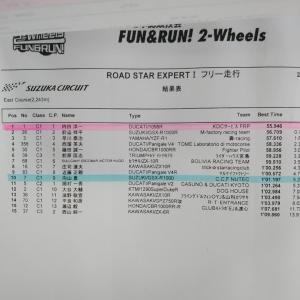 鈴鹿サーキット FUN&RUN タイムアタック