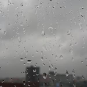 退院は雨と究極の選択