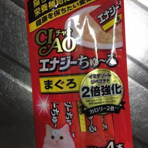 猫のおやつを人間がレビュー:CIAO エナジーちゅ~る まぐろ