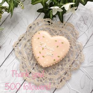 Instagram500フォロワー、ありがとうございます