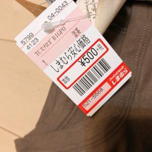 【しまむらでお買い得品購入‼️】500円以上のTシャツは買いません!
