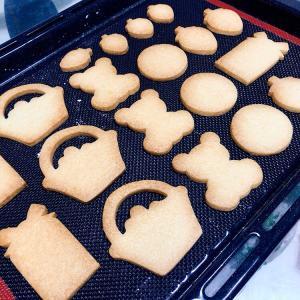3月の天然色素アイシングクッキーレッスン準備開始♡