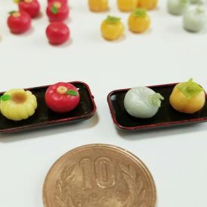 選べる和菓子パーツ①🍵・よもぎのミニチュアフードブログ