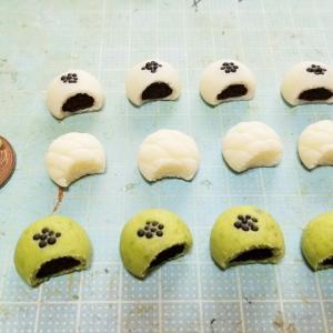 かじりかけパンの作り方🥯・よもぎのミニチュアフードブログ