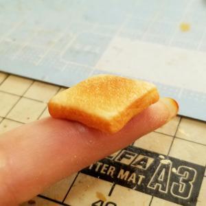 トーストシリーズの作り方🍞・よもぎのミニチュアフードブログ