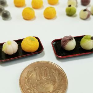 選べる和菓子パーツ②🍵・よもぎのミニチュアフードブログ