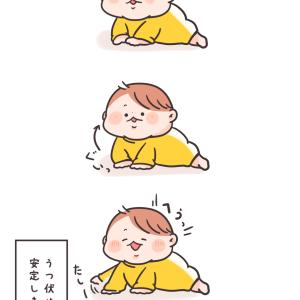 うつ伏せ練習~その後~