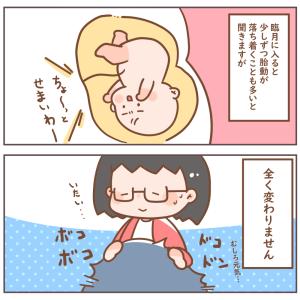 臨月に入っての胎動は…?(36w4day)