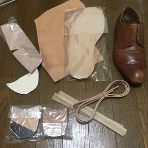 中古靴リメイク1足目【中古靴のメンテ~解体】