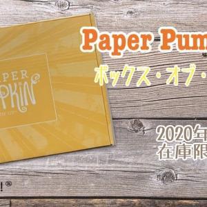 開封動画&作ってみた【Paper Pumpkin】