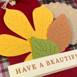 【動画】秋のカード