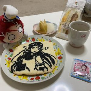 胃腸に負けず梨子ちゃん誕生日を祝う