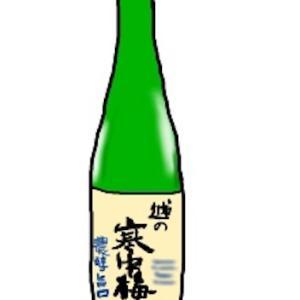今日のお酒:越の寒中梅