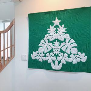素敵な生徒さんのお宅と、クリスマスキルト ②