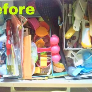 【アドバイス事例】キッチン引き出しを整えて効率UP!