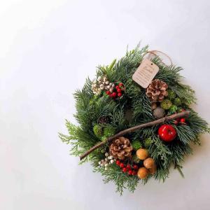 またまた良品週間はじまりまーす!とクリスマスリース