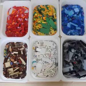 収納 IKEAトロファストでレゴ収納