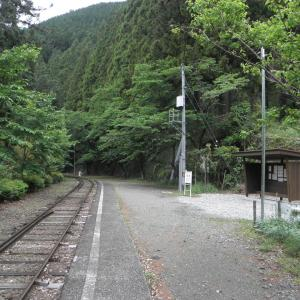 大井川鐵道-21:沢間駅