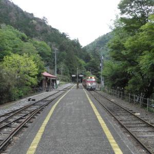 大井川鐵道-29:接岨峡温泉駅