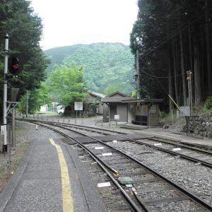 大井川鐵道-31:閑蔵駅