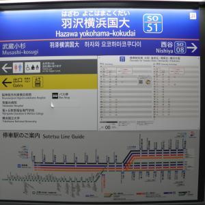 羽沢横浜国大駅開業と分岐駅となった西谷駅