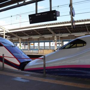 乗り鉄💛鉄子 東海道新幹線【ひかり】 → 東北新幹線【やまびこ】グリーン席  & ローカル線を楽しむ⤴😊