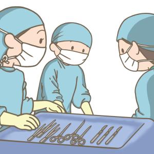 1年間で3度目の手術💉  頑張ってきました⤴✨