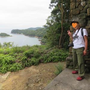 久しぶりに マスクを外して😊 夫婦ふたりで友ヶ島散策~~
