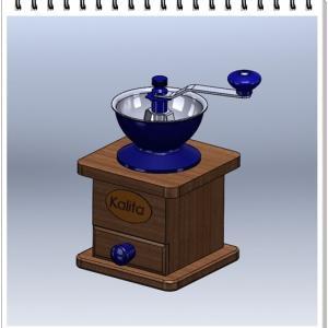 3D CAD で モデリングーコーヒーミル