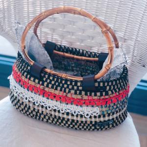 【モロッコかご】世界にひとつのい草のバッグをオーダーしました♡