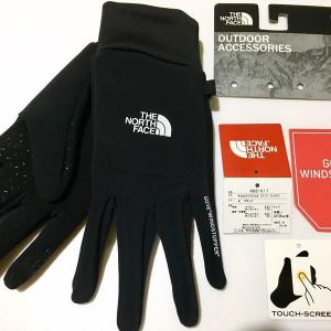 【ノースフェイス】ウィンドストッパーイーチップグローブ(NORTH FACE Windstopper Etip Glove)