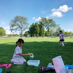 連休最終日はさとらんどでピクニック!