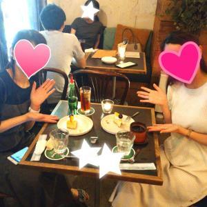 ブロ友と過ごす休日ディナータイム♡