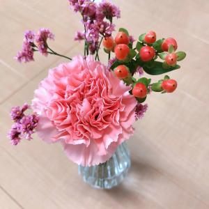 【今週のお花】優しい気持ちになれるピンクな組み合わせ♡