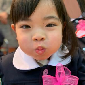 『本日幼稚園に入園』!おめでとうを言いたいけど、親にしてくれてありがとうって言いたい。