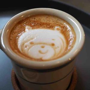 【福知山グルメ】UNBIRTHDAY COFFEEのかわいいラテアート。