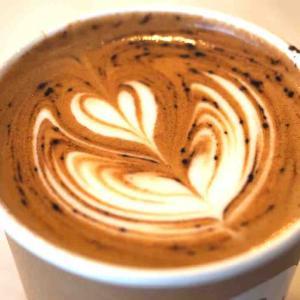 【コーヒー】astrea coffee kyotoのカプチーノ。〜朝活はじめました〜